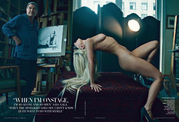 Съёмка: Леди Гага для Vanity Fair. Изображение № 2.