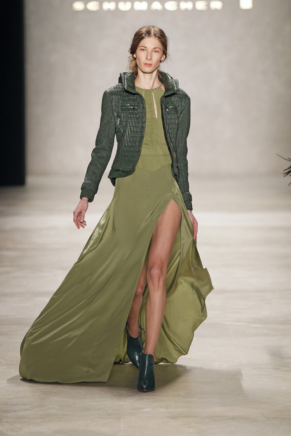 Berlin Fashion Week A/W 2012: Schumacher. Изображение № 29.