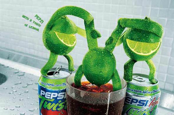 Alexandre Ermel. Реклама Pepsi Twist. Изображение № 8.