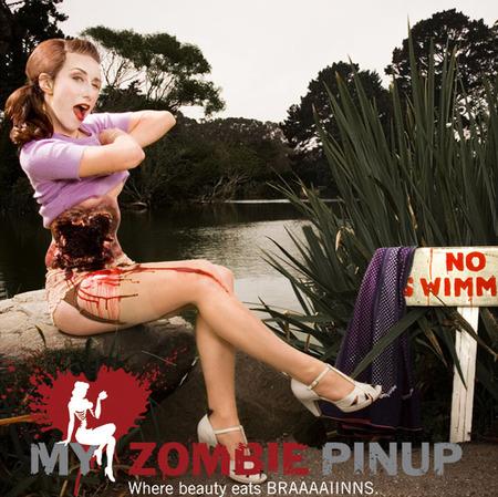 MyZombie PinUp календарь недля слабонервных. Изображение № 9.