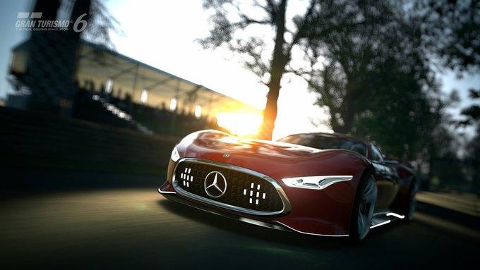 Mercedes-Benz разработала концепт спорткара для новой части Gran Turismo. Изображение № 27.