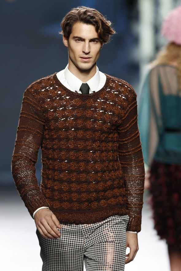 Madrid Fashion Week A/W 2012: Francis Montesinos. Изображение № 26.