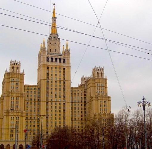 Жилой дом на Кудринской площади, Москва. Изображение № 5.