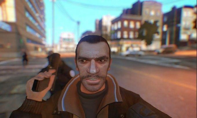 Мод позволяет делать селфи в GTA IV . Изображение № 7.