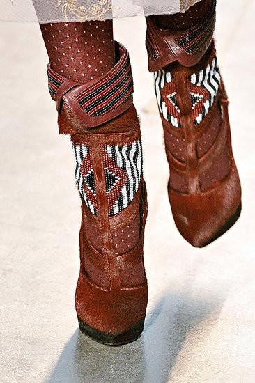 Изображение 1. Неделя моды в Нью-Йорке: обувь.. Изображение № 1.