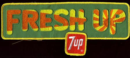 Графика 70-х thegreat hippie 7Up. Изображение № 14.