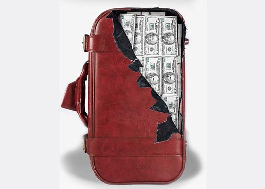 Изображение 3. Безумные наклейки на чемоданы.. Изображение № 2.