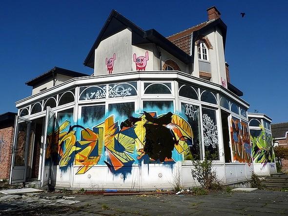 Стрит-арт в Париже. Изображение № 10.