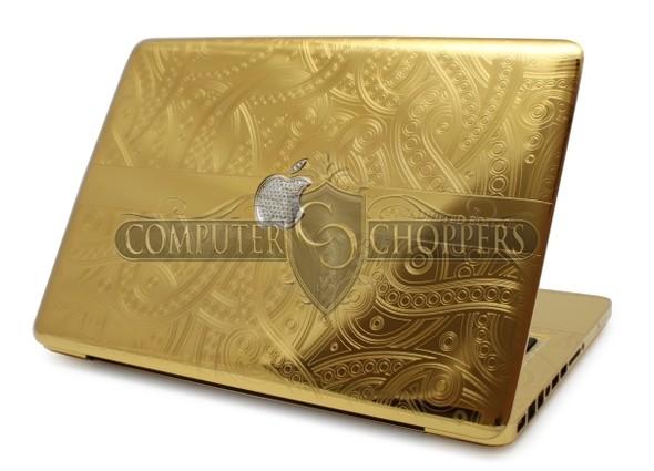 Макбук из золота от Computer Choppers. Изображение № 2.