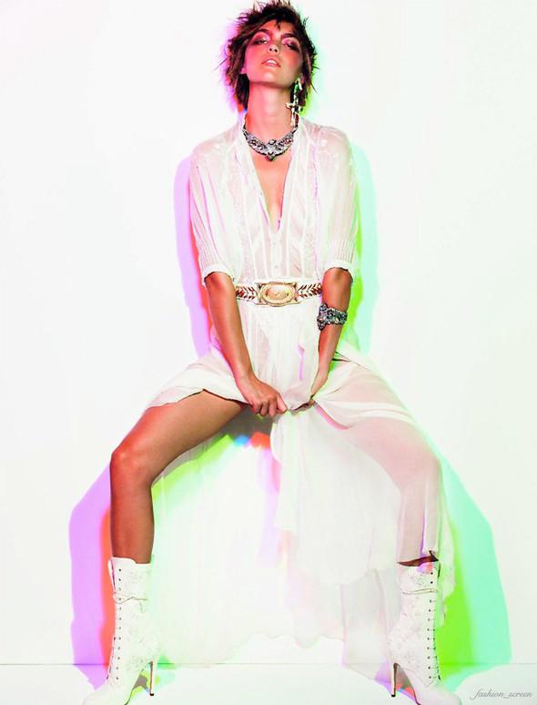 Как Элвис: Аризона Мьюз для Vogue Paris. Изображение № 7.