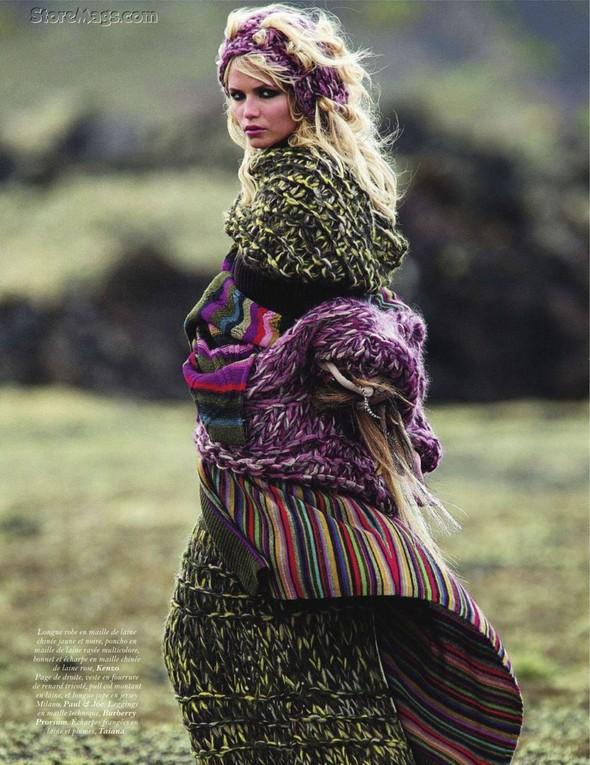 Съёмка: Наташа Поли для французского Vogue. Изображение № 4.