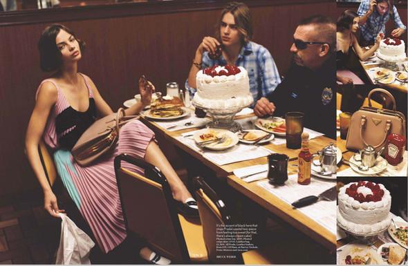 Съёмки: Harper's Bazaar, Interview, Vogue и другие. Изображение № 20.