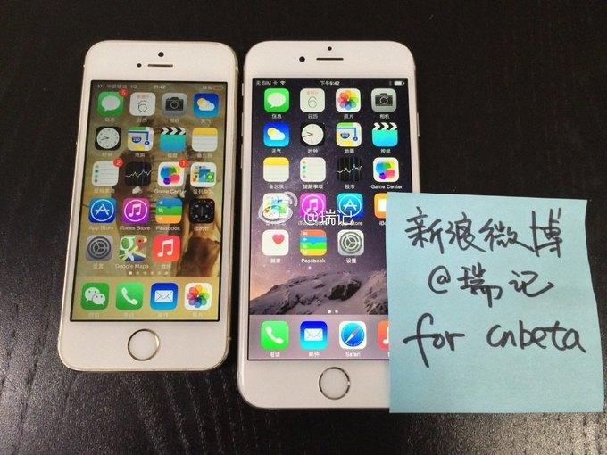 Китайцы выложили видео с работающим и якобы подлинным iPhone 6. Изображение № 1.