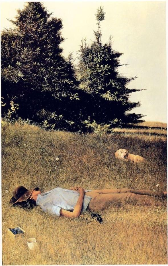 Andrew Newell Wyeth. Изображение № 19.