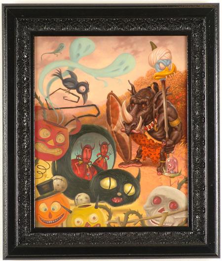 Эйсид-поп сюрреализм Тодда Шорра. Изображение № 39.
