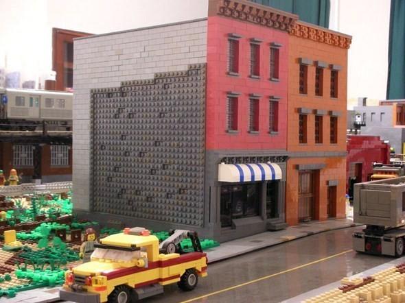 Изображение 15. Улицы Нью-Йорка из конструктора LEGO.. Изображение № 15.