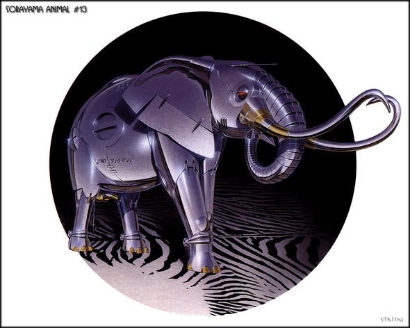 Японский художник Hajime Sorayama. Изображение № 9.