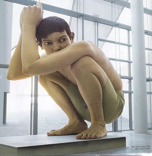 Скульптор-гиперреалист РонМуек (Ron Mueck). Изображение №8.