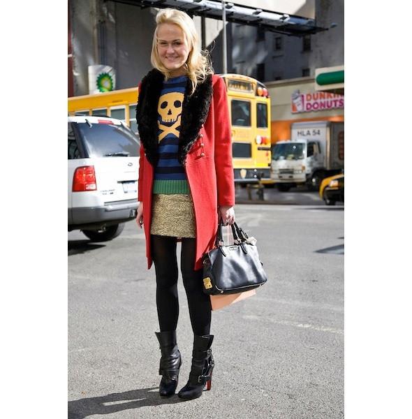 Изображение 55. На полях: 10 тенденций уличного стиля с прошедших недель моды.. Изображение № 55.