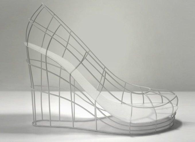 Дизайнер распечатал коллекцию туфель на 3D-принтере. Изображение № 13.
