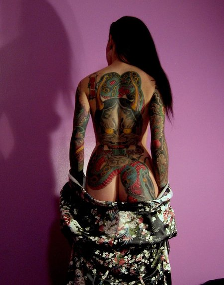 Японские татуировки. Изображение № 4.