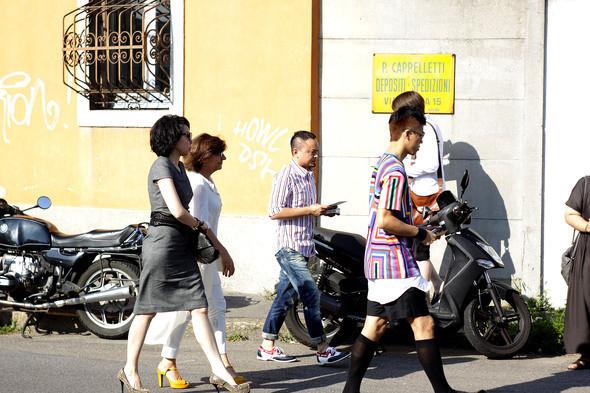 Изображение 15. Milan Fashion Week в деталях: день 3.. Изображение № 13.