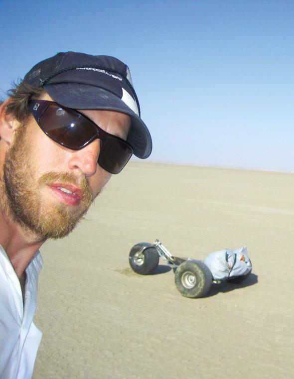 Пересечение пустыни Намиб на кайт-багги. Изображение № 9.