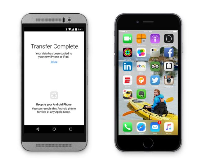 Выйдет приложение Apple для перехода с Android на iOS. Изображение № 1.