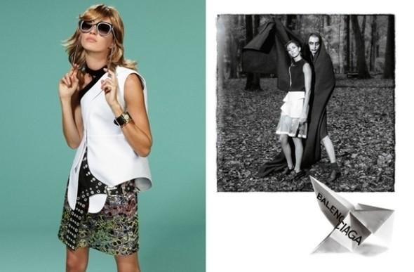Изображение 1. Рекламные кампании: Lanvin, Prada, Balenciaga и другие.. Изображение № 28.