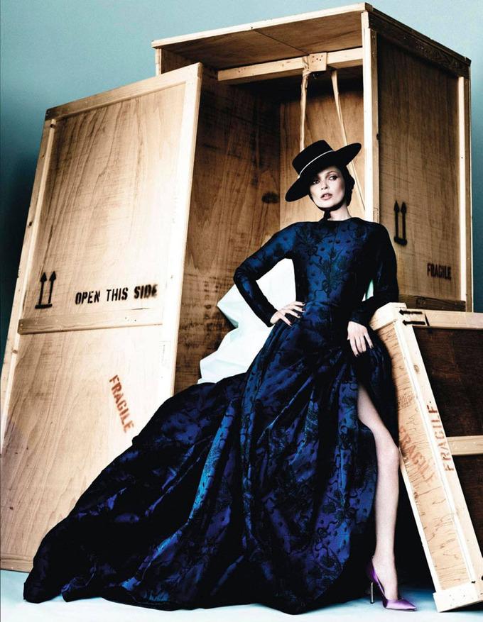 Numero, Vogue и другие журналы опубликовали новые съемки. Изображение № 25.