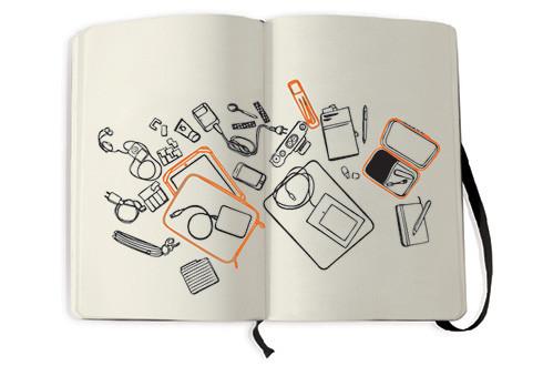 Чехлы для электронных книг и планшетов от Moleskine. Изображение № 1.