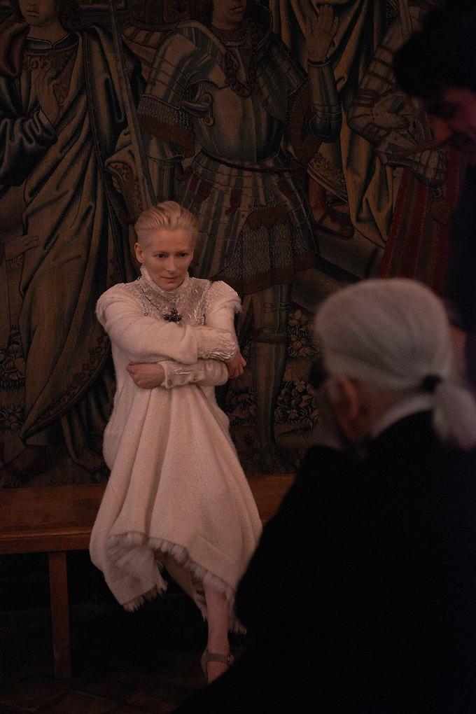 Тильда Суинтон стала лицом Chanel. Изображение № 1.
