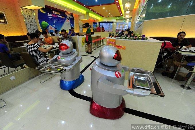 В Китае открылся роботизированный ресторан . Изображение № 3.