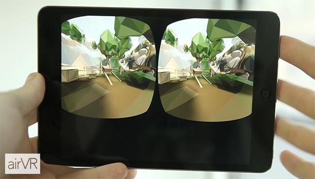 Примерно так выглядит виртуальная реальность в AirVR. Изображение № 5.