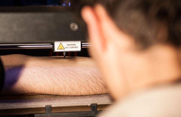 3D-принтер стал роботом-татуировщиком. Изображение № 1.