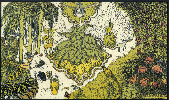 Сказочные иллюстрации. Изображение № 10.