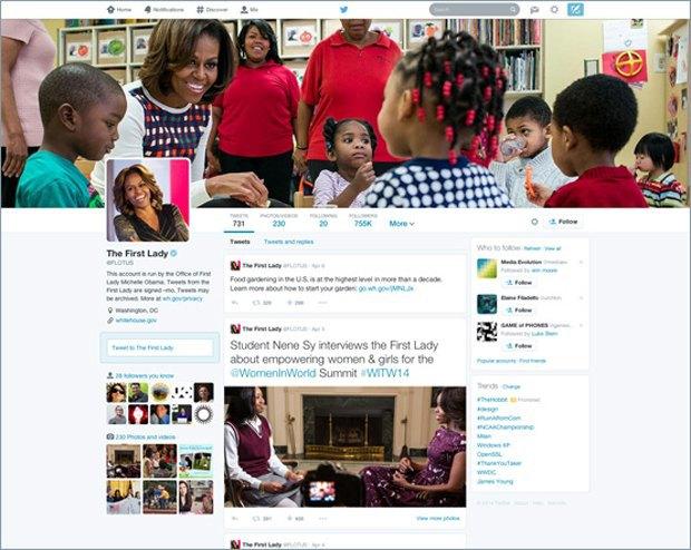 Twitter обновляет интерфейс веб-профилей. Изображение № 1.