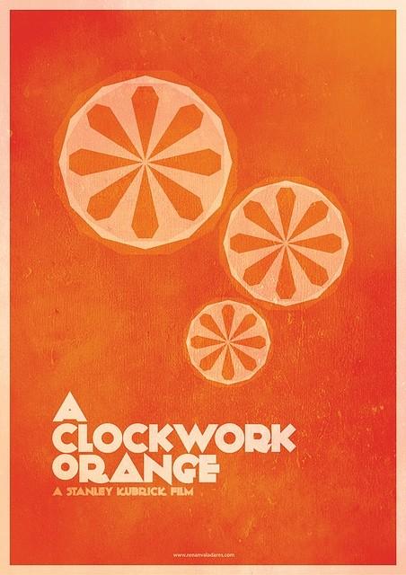 A Clockwork Orange - 20 кинопостеров на тему ультранасилия. Изображение № 13.