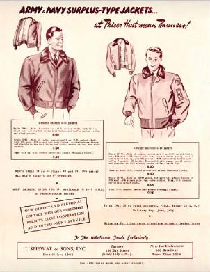 Краткая иллюстрированная история бренда Spiewak. Изображение № 3.