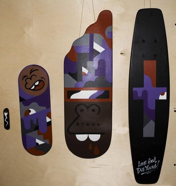 Skate restructurations или о самой большой выставки скейтов в России. Изображение № 32.