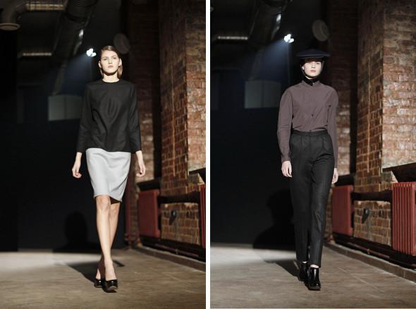 Изображение 7. Bezous FW 2011: брюки со стрелками и платья-футляры.. Изображение № 7.
