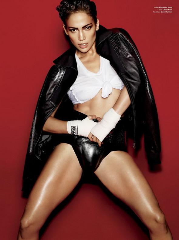 Дженнифер Лопес для V Magazine. Изображение № 7.