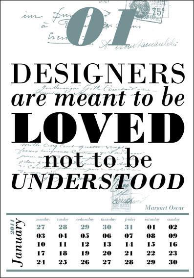 Календарь для дизайнеров от Harmonie Interieure. Изображение № 2.