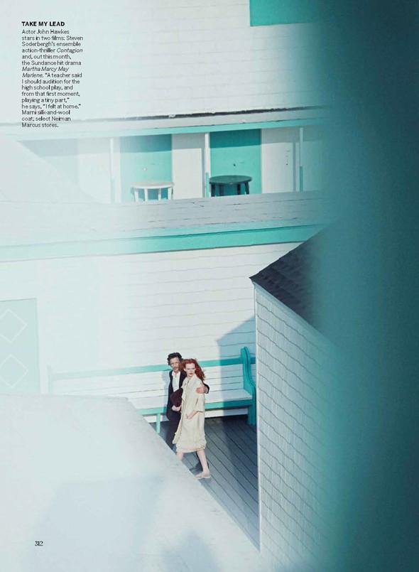 Съёмка: Карен Элсон для Vogue. Изображение № 3.