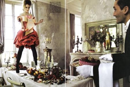 Эмма Уотсон (итальянский Vogue, сентябрь 2008). Изображение № 9.
