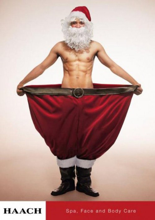 Новогоднее - Рождественский креатив в рекламе. Изображение № 36.