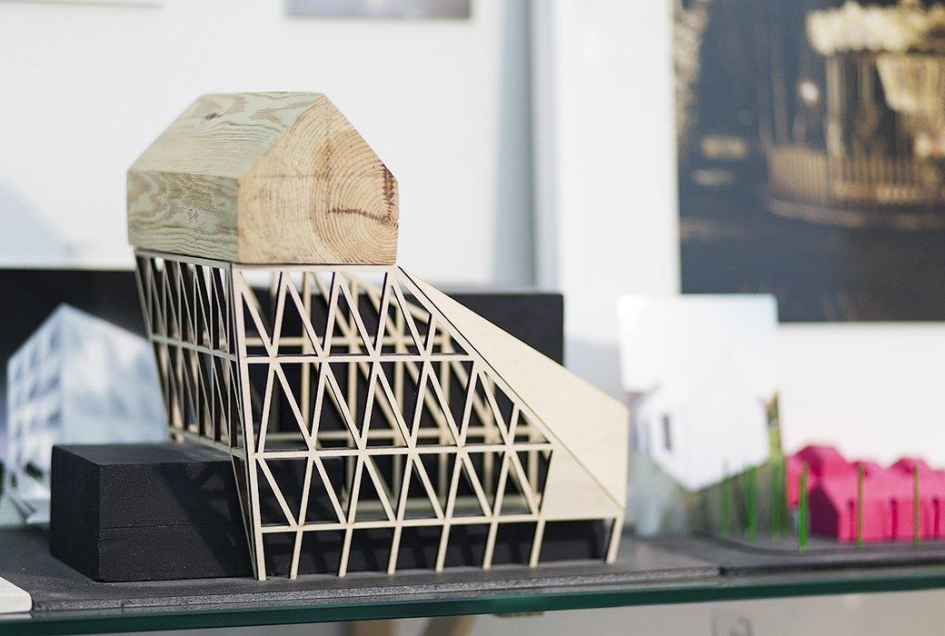 Экзотические птицы и старинные паркеты в архитектурном бюро «Практика». Изображение № 15.