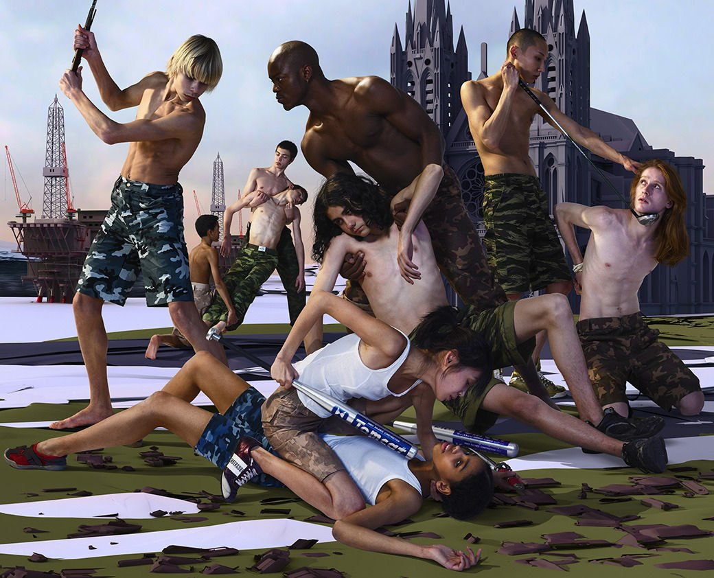 Художники о конце света: Арт‑группаAES+F. Изображение № 7.