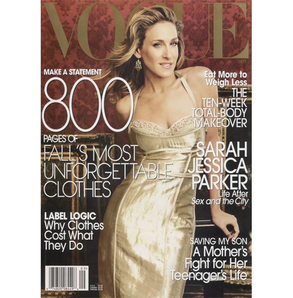 Сентябрьский номер Vogue: все толще. Изображение № 2.