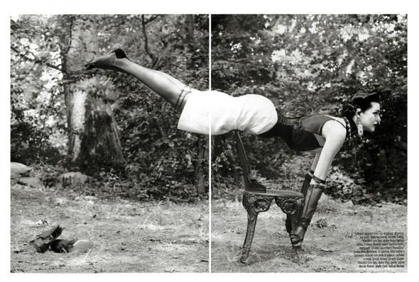 Съёмка: Стелла Теннант в объективе Стивена Майзела. Изображение № 6.